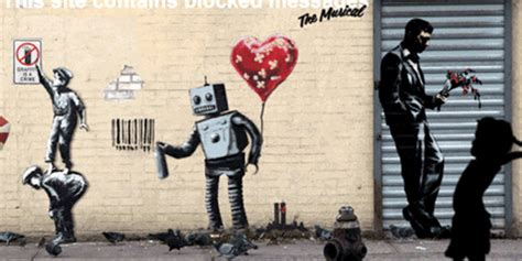 Contemporary Kitchen Wallpaper Ideas the best of banksy animated into incredible gifs