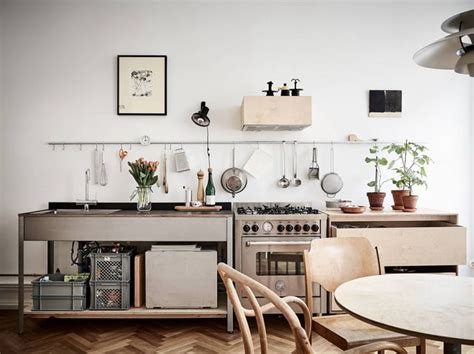 Kitchen Island Or Cart by Steal This Look Smart Storage In A Swedish Kitchen