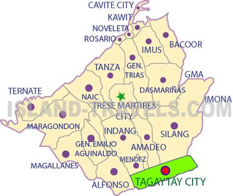 san jose tagaytay map ternate resort cavite map 28 images image gallery