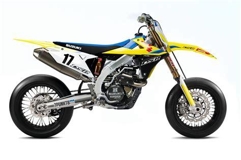 Suzuki 450 Motorcycle Imagining The 2018 Suzuki Rm Z450 Supermoto Asphalt Rubber