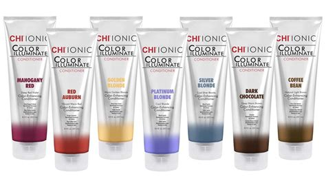 chi color discover the new chi ionic color illuminate conditioner line