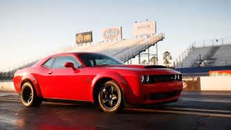 Dodge 2018 Dodge Challenger Srt Demon Release Date Price And