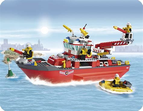fire boat construction 1000 id 233 es sur le th 232 me lego pompier sur pinterest lego