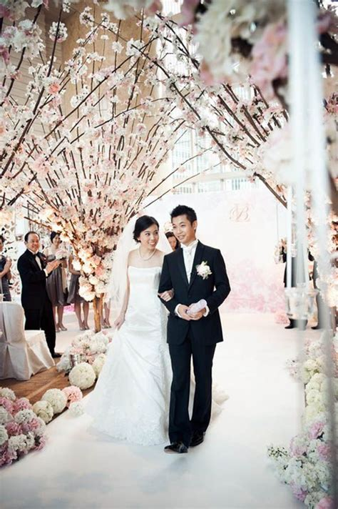 wedding aisle branches 17 best images about cherry blossom wedding decoration on
