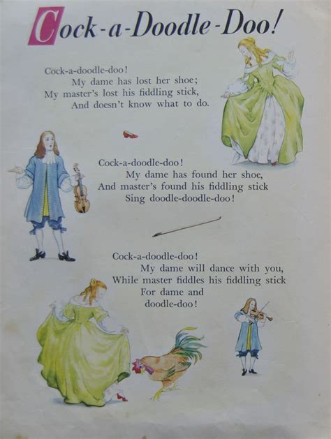 doodle doodle doo nursery rhyme 485 best nursery rhyme origins history images on
