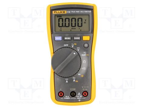Multimeter Fluke 115 fluke 115 fluke digital multimeter tme electronic