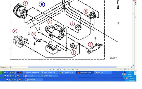 mercruiser 5 0 alternator wiring diagram 40 wiring