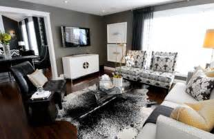 black and grey living room ideas how to decorate in black and white hotpads blog