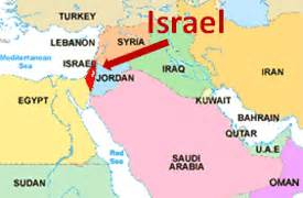 Map Of Middle East Israel by What Should Israel Worry About