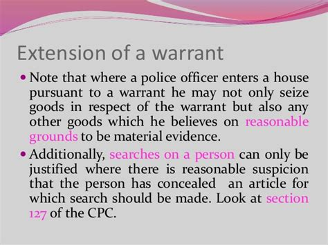 A Officer Is Justified In Conducting A Warrantless Search In Which Searches Criminal Procedure In Kenya
