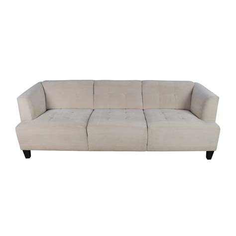 Macys Tufted Sofa Nari 83 Tufted Back Sofa With 2 Toss Macys Tufted Sofa