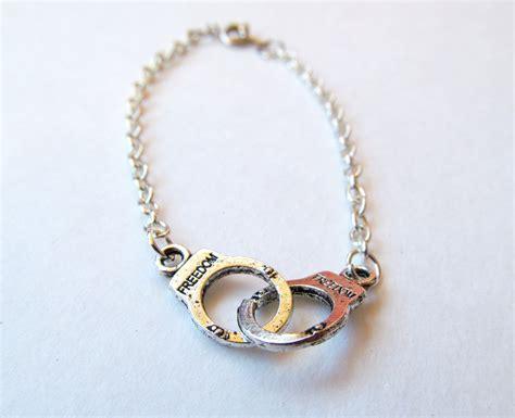 handcuff freedom bracelet tibetan charm silver friendship