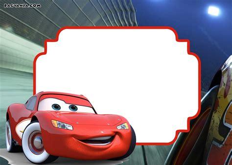 Disney Cars Template