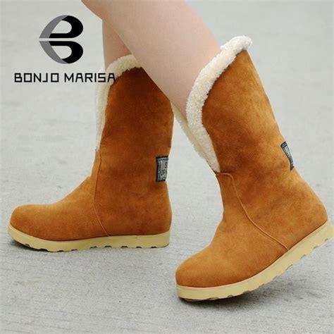 Sepatu Boot Musim Salju aliexpress beli sepatu salju 2015 ukuran besar 34 43