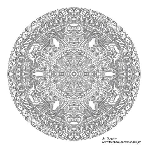 advanced mandala coloring pages expert coloring pages printable coloring home