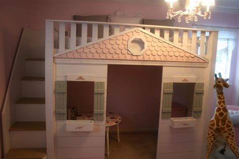 playhouse bed children s playhouse bed kids room pinterest