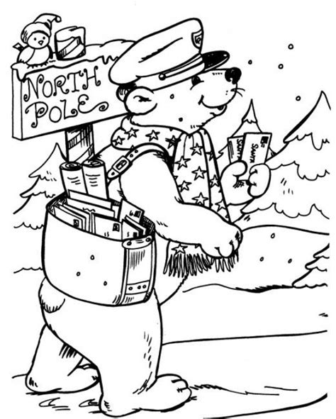 North Pole Printables Coloring Pages Coloring Pages The Pole Coloring Pages
