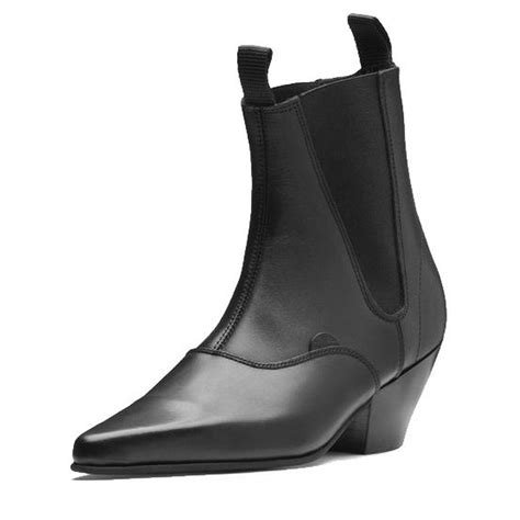 s underground beatle chelsea boots with cuban heel