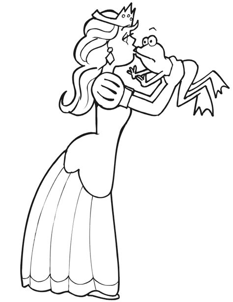 quot the princess and the frog quot coloring pages to printable