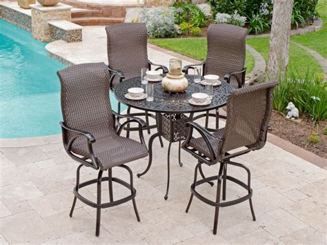 Bar Height Patio Stools by Bar Height Patio Table And Chairs Bar Height Patio Table