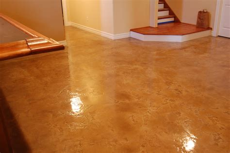 Basement Floor Epoxy Concrete Epoxy Flooring