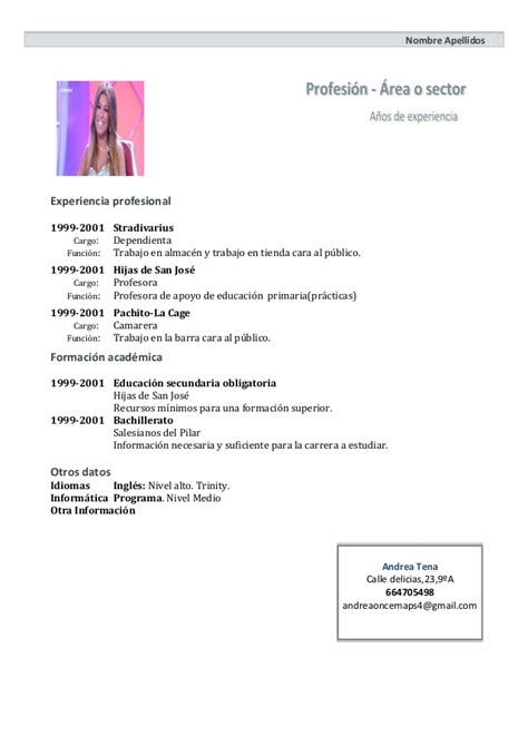 Modelo Curriculum Vitae Normal Modelo De Curriculum Vitae Normal Quotes