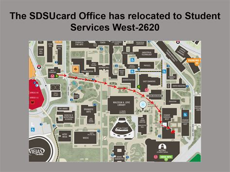 directions to our office sdsucard student account