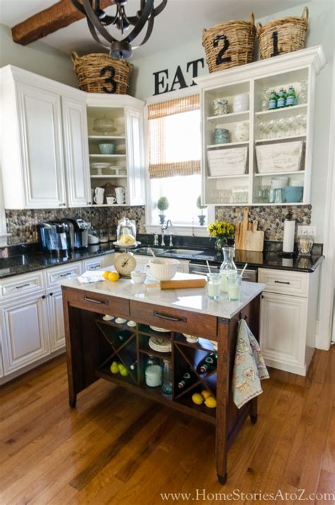 Adding A Kitchen Island | 3 ways to personalize your kitchen home stories a to z