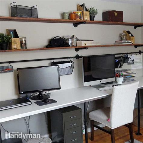 Organizing Office Desk 8 Home Office Desk Organization Ideas You Can Diy The Family Handyman
