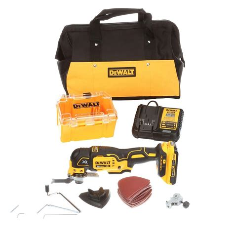 multi tool kit dewalt 20 volt max xr lithium ion cordless brushless