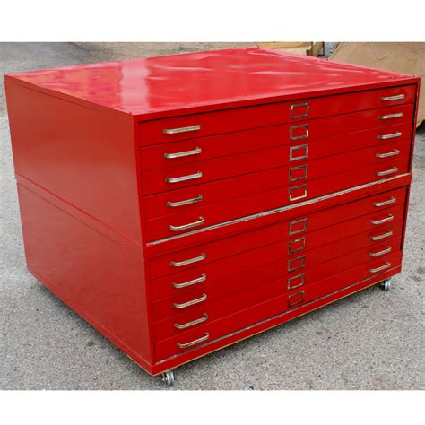 Drafting Cabinet by 44 Quot 1 Architectural Drafting Flat File Cabinet Ebay