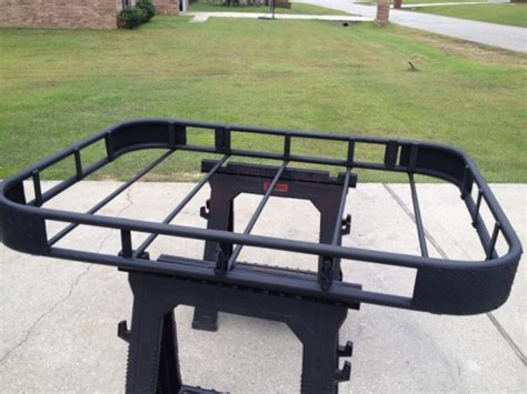 roof rack paint homemade roof rack gets fresh paint jeep cherokee forum