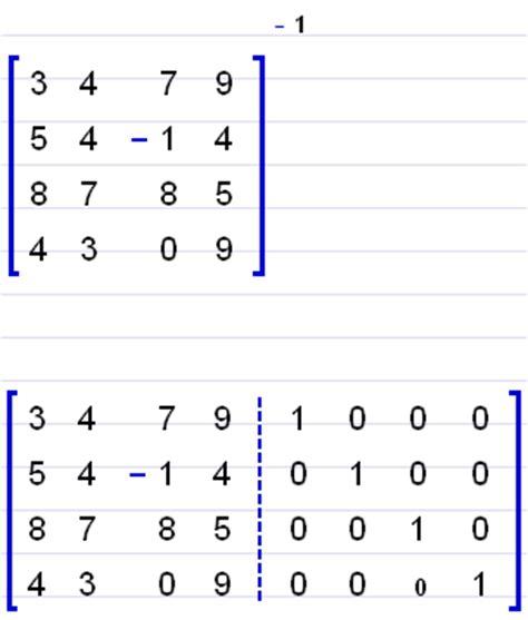 Algebrator review C- 4x4 Matrix Inverse