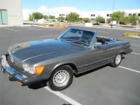 1980 Mercedes 450 Sl 1980 Mercedes 450sl Convertible 116282