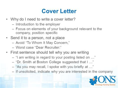 do i need a cover letter for a resume writing a cover letter