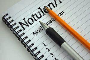 Hasil Notula by Cara Menulis Notulen Dengan Baik Dan Benar Terlengkap