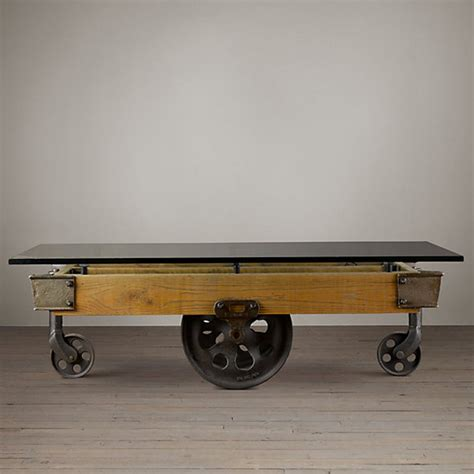 factory coffee table s factory cart coffee table shoptv