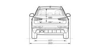 Q3 Audi Dimensions Wymiary Gt Audi