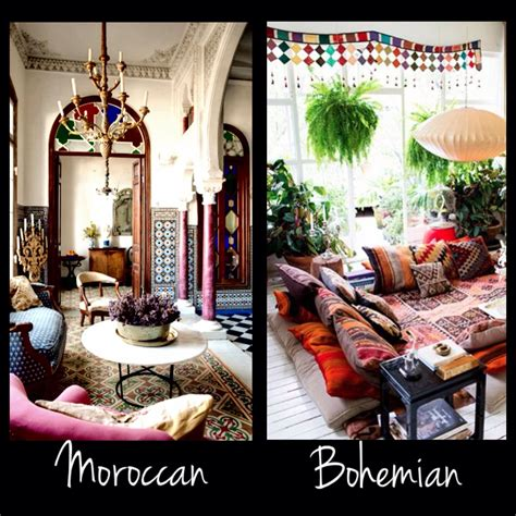 my interior design style the thin line between moroccan and bohemian style my interior design