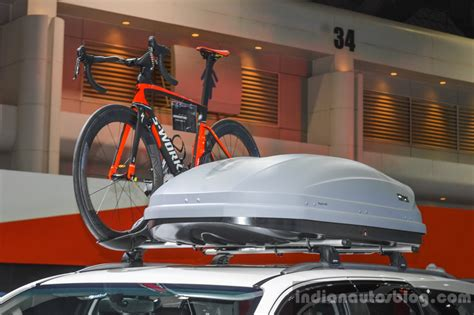 2016 toyota fortuner white roof rack at 2016 bims indian