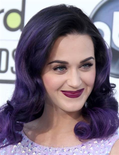 purple celbrity hair celebrity hair colors at 2012 billboard music awards
