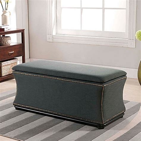 bed bath and beyond ottoman baxton studio liverpool storage ottoman and bench bed