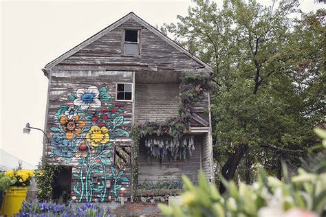 flowers house three dozen floral designers transform a condemned detroit