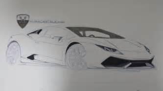 Lamborghini How To Draw Lamborghini Huracan Drawing By Enes Canay For Huracantalk