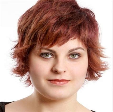women short hairstyle fat face thin hair 10 trendy short hairstyles for women with round faces