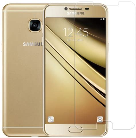 For Samsung Galaxy C5 Abu Abu Gratis Tempered Glass Ultra Thin S samsung galaxy c7 tempered glass screen protector price review and buy in dubai abu dhabi and