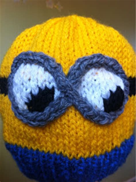 minion hat knitting pattern despicable me minion hat 2 knitting pattern the knit guru