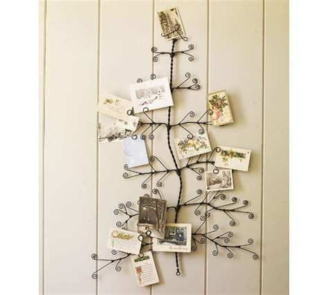 wall christmas card holder praktic ideas 1 find fun art