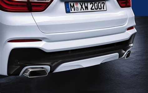performance exhaust for bmw bmw m performance valve exhaust silencer system for the bmw x4