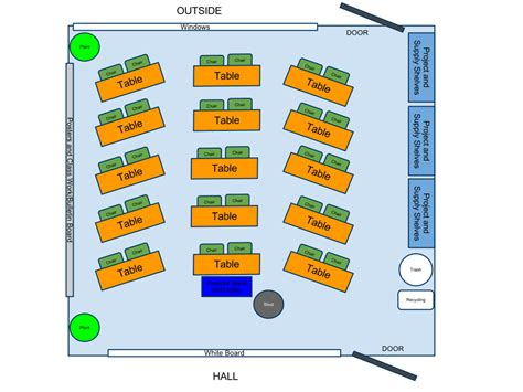 classroom layout for 30 students joshua hill